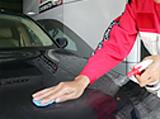 塗装面の汚染物質の除去